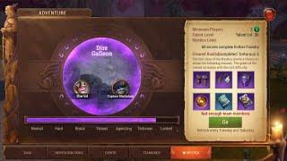 CoL - Mystica Torturous 3 - Dire Galleon - Second Boss (Healer View)