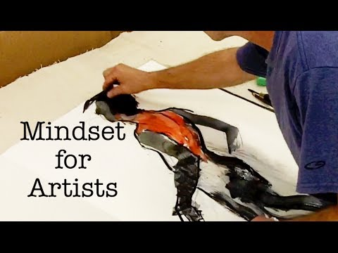 [Mindset for Artists] David Limrite (Artist) (Coach) (Mentor) (Teacher) (Figure Drawing)