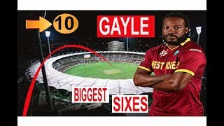 vuclip 10 Longest Sixes of Chris Gayle Bating Career