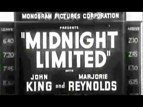 Train Crime Drama - Midnight Limited (1940)