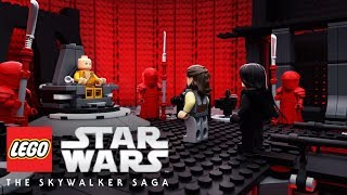 LEGO Star Wars: The Skywalker Saga - Snoke's Throne Room And Release Date Revealed?!