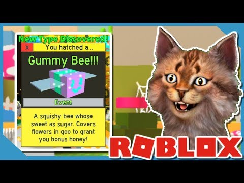 UNLOCKING THE GUMMY BEE IN ROBLOX BEE SWARM SIMULATOR (NEW CODE)