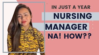 Promoted to Nurse Manager after One Year. Filipino UK Nurse Story. Nurse Micah Gail
