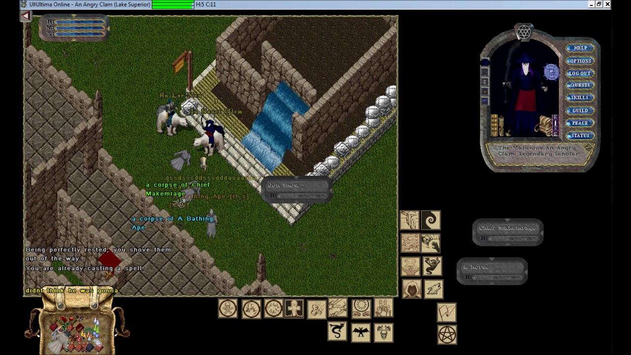 Ultima Online Lake Superior - Castle IDOC hangout