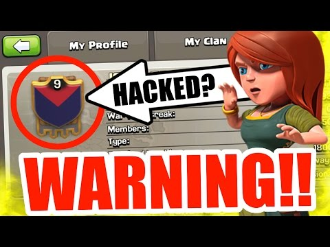 Clash Of Clans - WARNING! DO NOT JOIN THIS CLAN! HACKED CLAN!?!