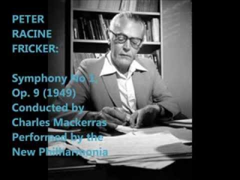 Peter Racine Fricker: Symphony No 1 [Mackerras-New Philharmonia]