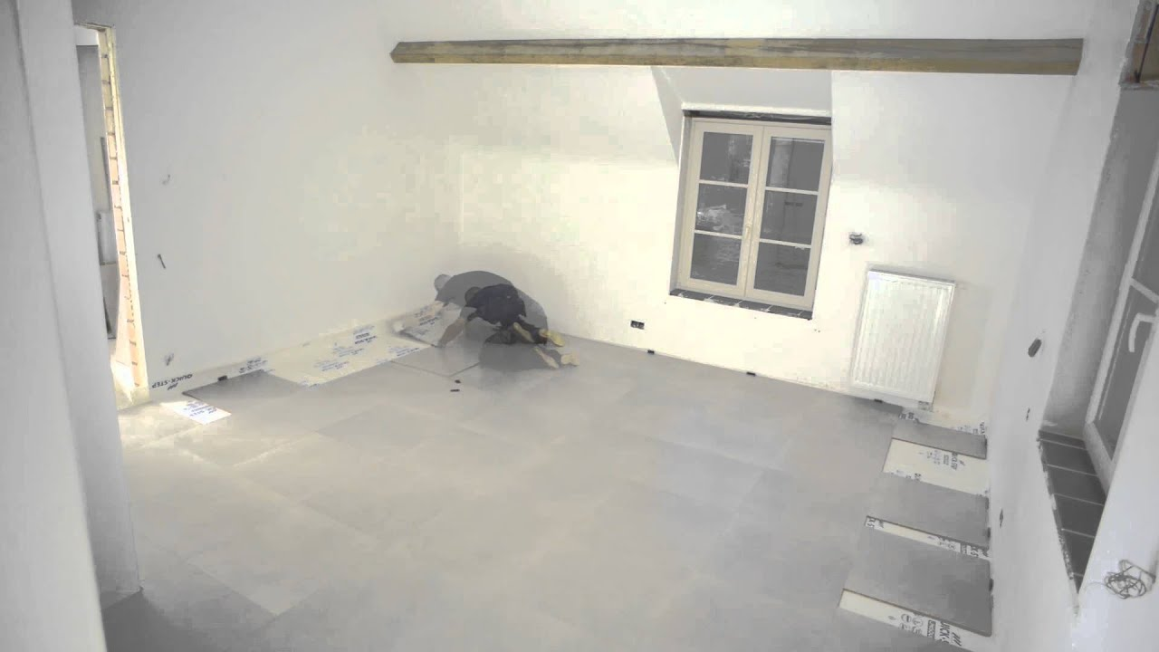 Instalaci n de baldosas para suelos laminados con quick - Instalacion de suelo laminado ...