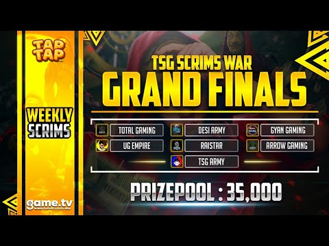 Free Fire India || The Grand Finale - Squad Tournament 35000 Prize Pool || Powered By game.tv