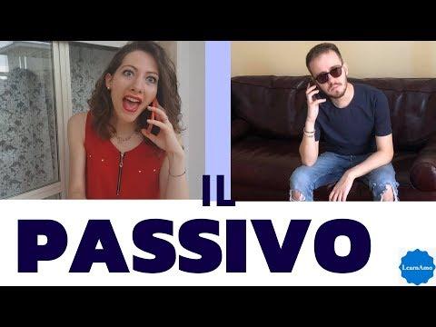 La voce passiva in italiano - Italian passive voice  - La construcción pasiva -  La forme passive