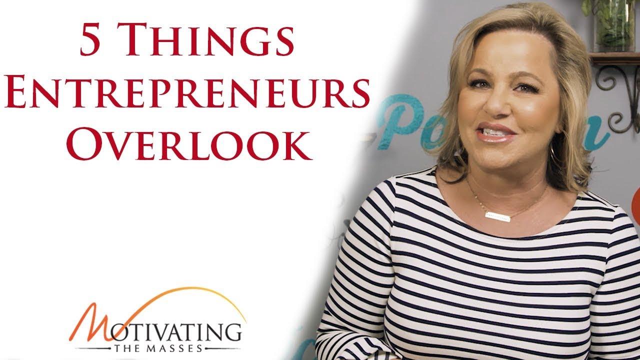 Susie Carder - The 5 Things Entrepreneurs Overlook
