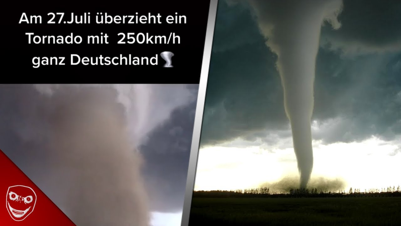 TORNADO Gefahr in DEUTSCHLAND! Tornado am 27. Juli nun doch?
