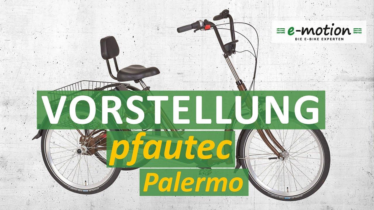 Download pfautec Palermo 2017 - Elektro-Dreirad Neuheit