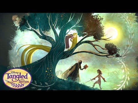 Rapunzel and the Lost Lagoon Book Trailer | Tangled the Series | Disney Channel
