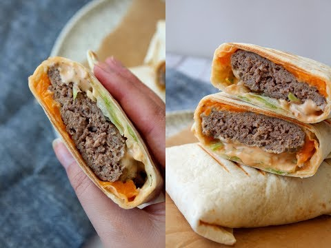 Delicious Big Mac Inspirered Wraps – By One Kitchen