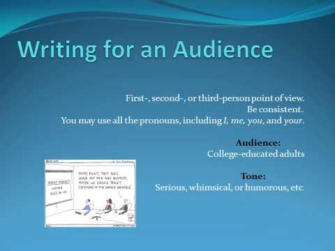 Essay 1 PowerPoint  with Audio