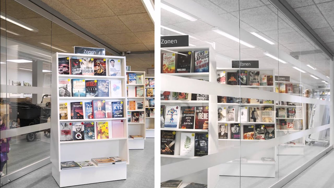 Vodskov Public Library, Denmark YouTube