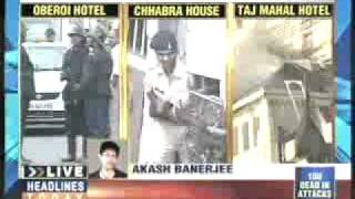 Mumbai Rocked by Deadliest Terrorists Attacks 26/11/08 - Claimed More than 100 Lives