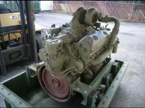 Detroit model 8V92TA/445 12 1 Liter V8 Diesel Engine on GovLiquidation com