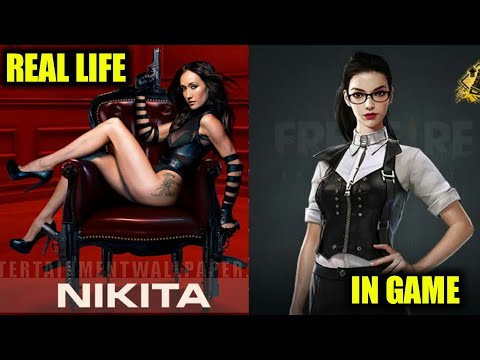 Garena Free Fire All Character In Real Life Like Dj Alok,maxim,nikita By RajputGaming