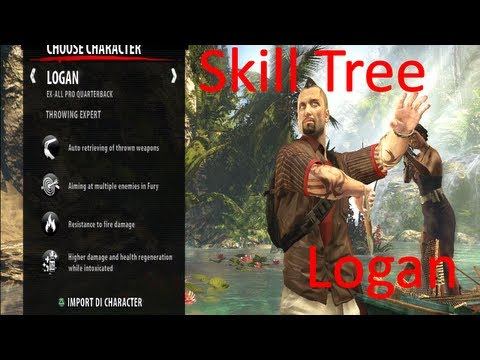 Logan Build Dead Island Riptide