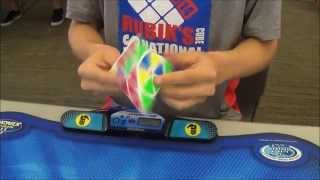 2.56 Official Pyraminx World Record Average - Drew Brads