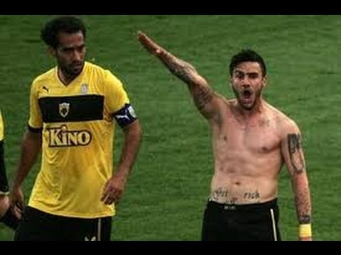 Soccer Player Banned For Nazi Salute