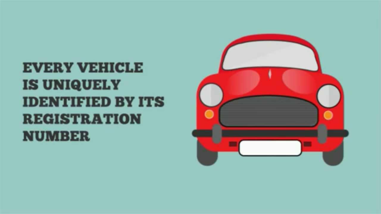 Making Sense of the Vehicle Registration Number - YouTube