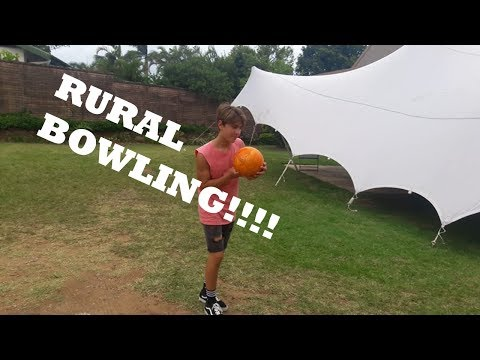 Rural Bowling in South Africa!!!