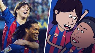 The story of Lionel Messi   Oh My Goal