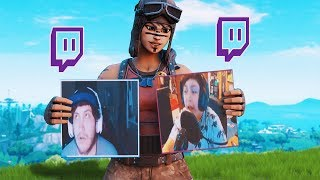 Destroying Twitch Streamers With Rare Skins...(pt.2)
