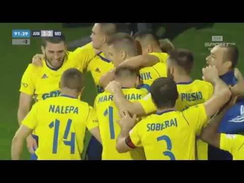 Arka Gdynia 3:2 FC Midtjylland Wszystkie Bramki Eliminacje Ligi Europejskiej 2017