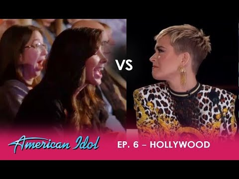 LOVE Triangle: Katy Perry Fights Back When CONFRONTED By Contestants Girlfriend | American Idol 2018