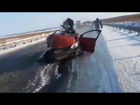 ДТП Тюмень Ханты Мансийск, 690 км у Пыть-Ях, 16-02-2019 МАТ 18+