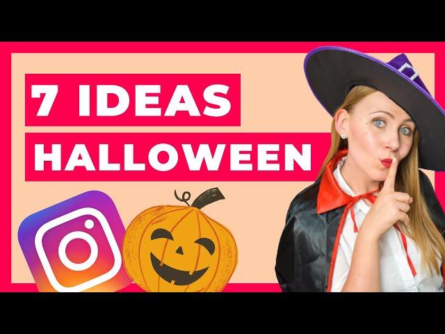 7 Ideas de HALLOWEEN 👻 para Instagram de tu Restaurante o Pastelería