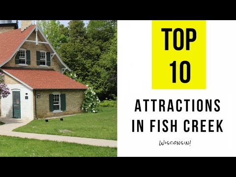 Top 10. Best Tourist Attractions In Fish Creek  - Wisconsin