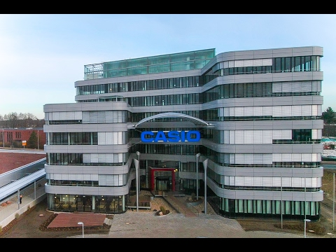 CASIO Logistics Centre Europe | Construction Time Lapse