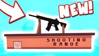 NEW SECRET GUN IN THE SHOOTING RANGE (Roblox Jailbreak)