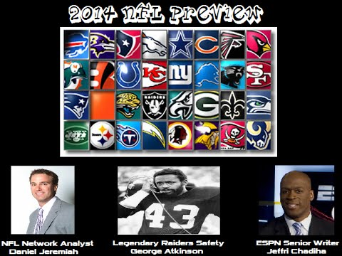 Outsiders Sports Show - NFL Preview 2014