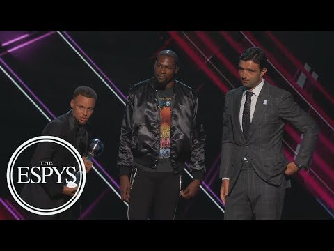 Golden State Warriors Win Best Team | The ESPYS | ESPN