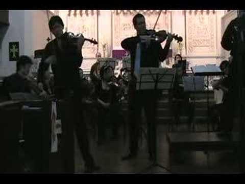 Mozart Sinfonia Concertante, - II. Andante (pt 1)