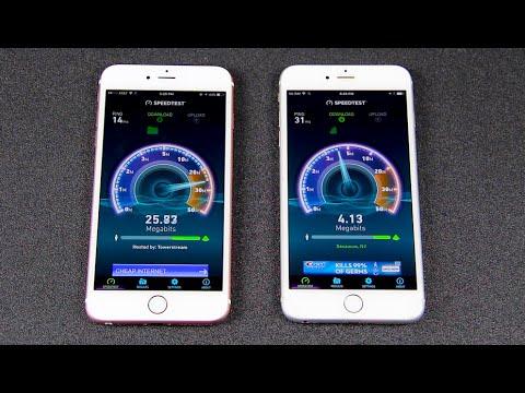 iPhone 6S Plus vs. iPhone 6 Plus - Speed Test - YouTube 950459e4049