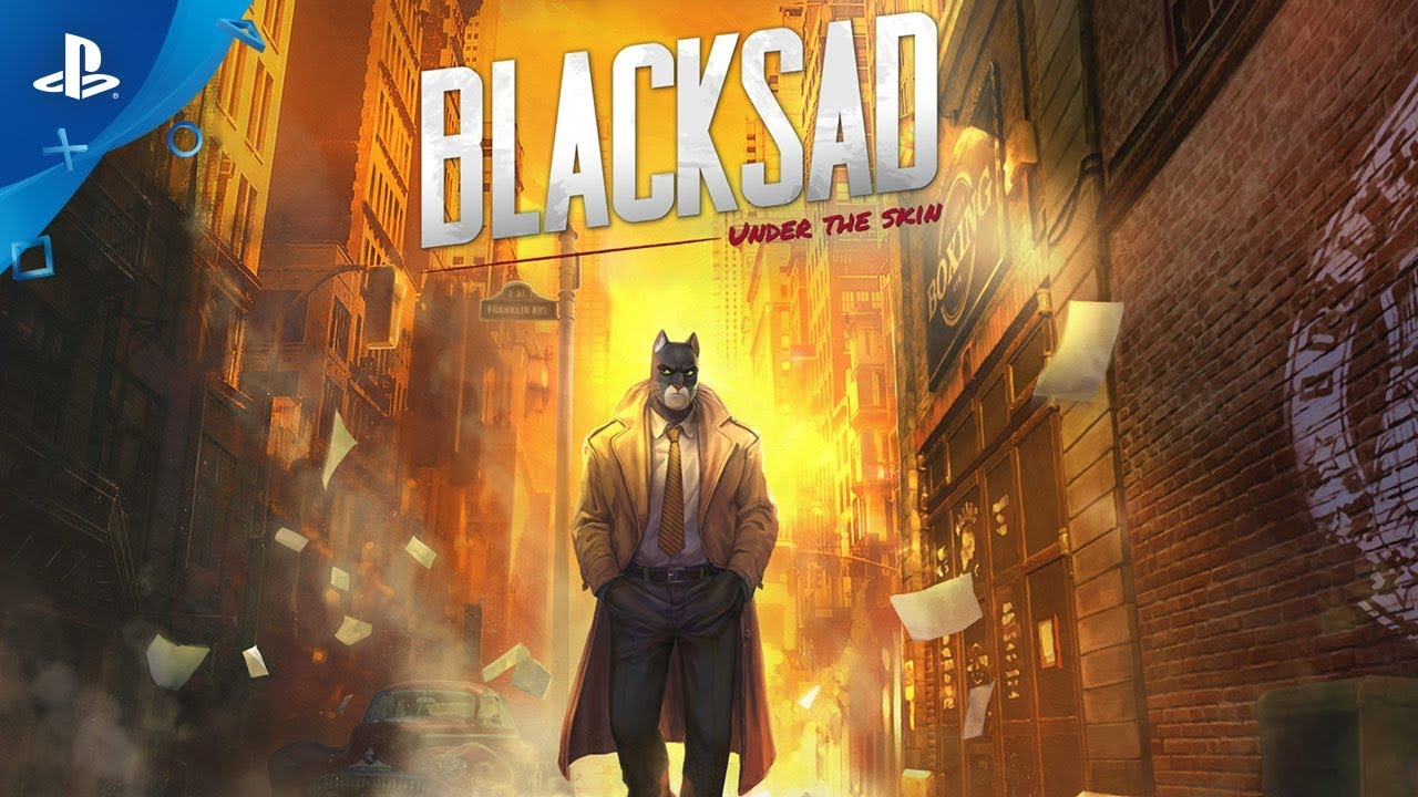 Blacksad: Under the Skin - Launch Trailer | PS4