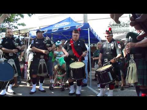 St. Patrick Day fest in Hollywood, FL w/ Chief Odulani