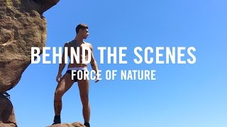 Behind The Scenes - Male Underwear Photo Shoot for Earth Day
