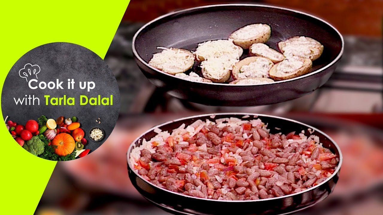 Cook it up with tarla dalal ep 8 stuffed potato skins mexican cook it up with tarla dalal ep 8 stuffed potato skins mexican bean faheeta and chocolate mousse forumfinder Gallery