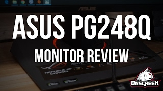"ASUS PG248Q Review - 24"" 1080p 180hz 1ms G-SYNC Monitor"