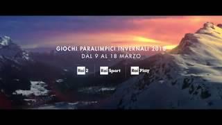 Paralimpiadi invernali di PyeongChang 2018 - il Promo della Rai