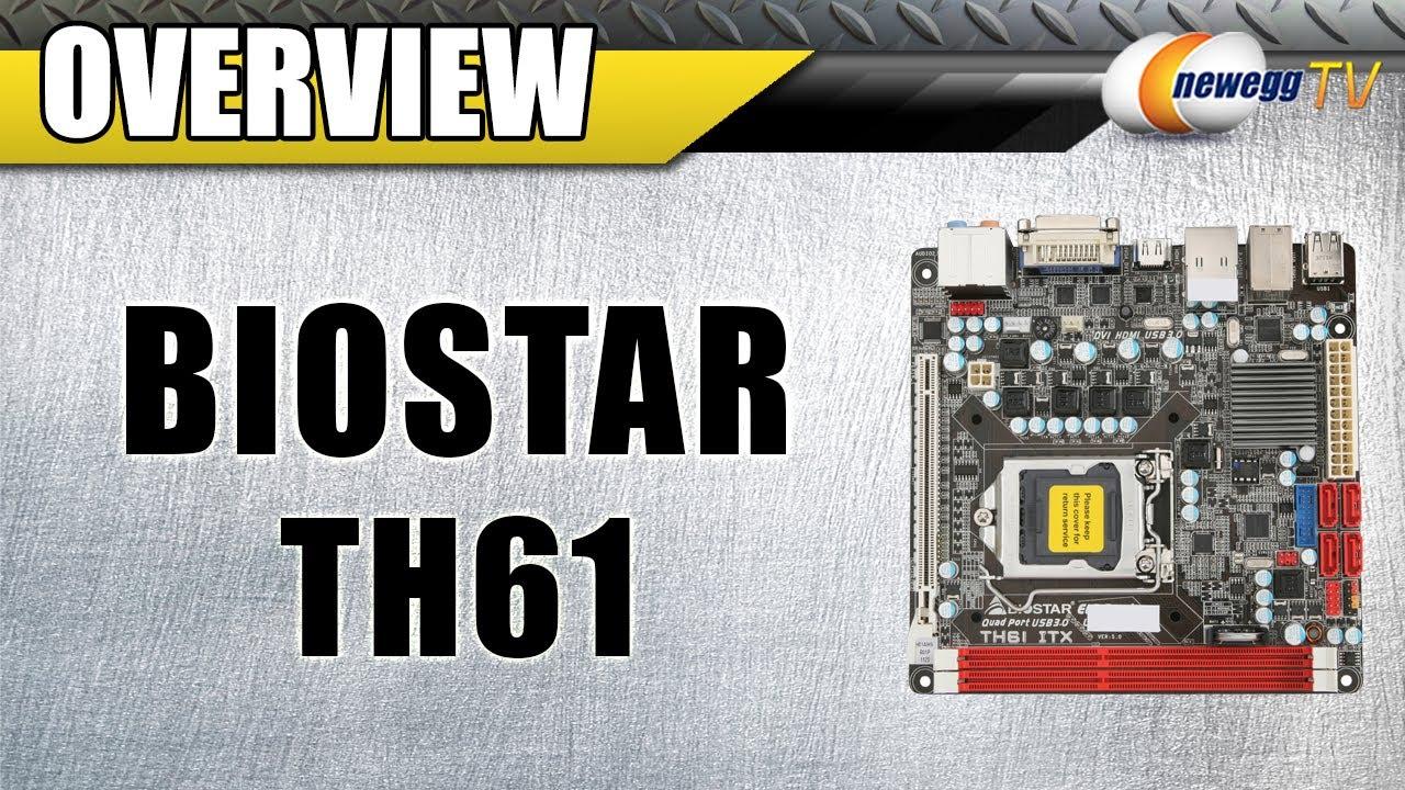 Biostar TH61 ITX Ver. 5.x Driver Windows