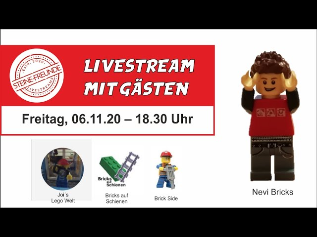 Livestream mit Gästen