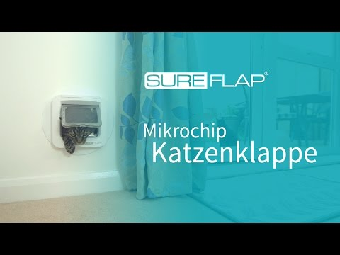 Mikrochipgesteuerte Katzenklappe Werbevideo
